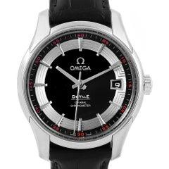 Omega DeVille Hour Vision Black Dial Men's Watch 431.33.41.21.01.001