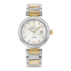 Omega DeVille Ladymatic 425.20.34.20.55.002 Steel & 18K Yellow Gold Ladies Watch