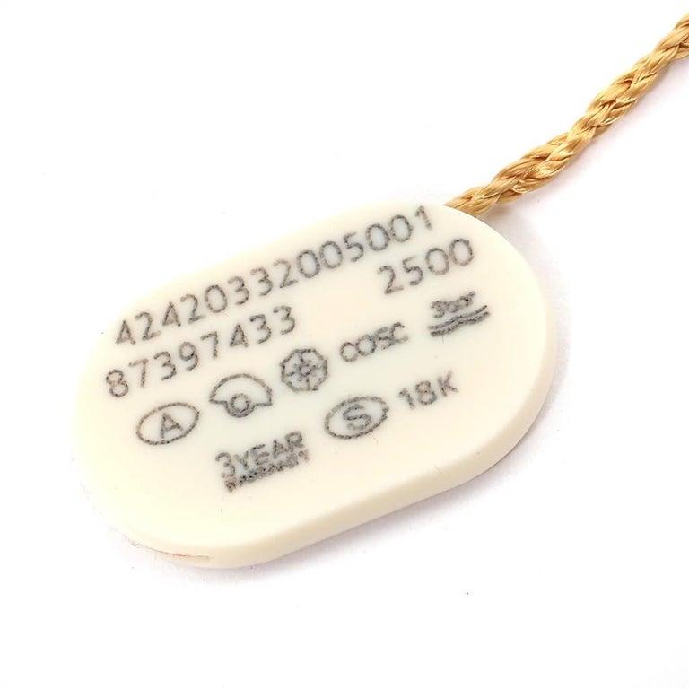 Omega DeVille Prestige Steel Yellow Gold Men's Watch 424.20.33.20.05.001 For Sale 6
