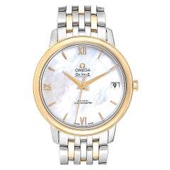Omega DeVille Prestige Steel Yellow Gold Men's Watch 424.20.33.20.05.001