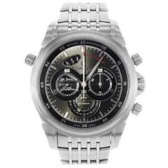 Omega DeVille Steel Automatic Gray Dial Men's Watch 422.10.44.51.06.001 New B/P