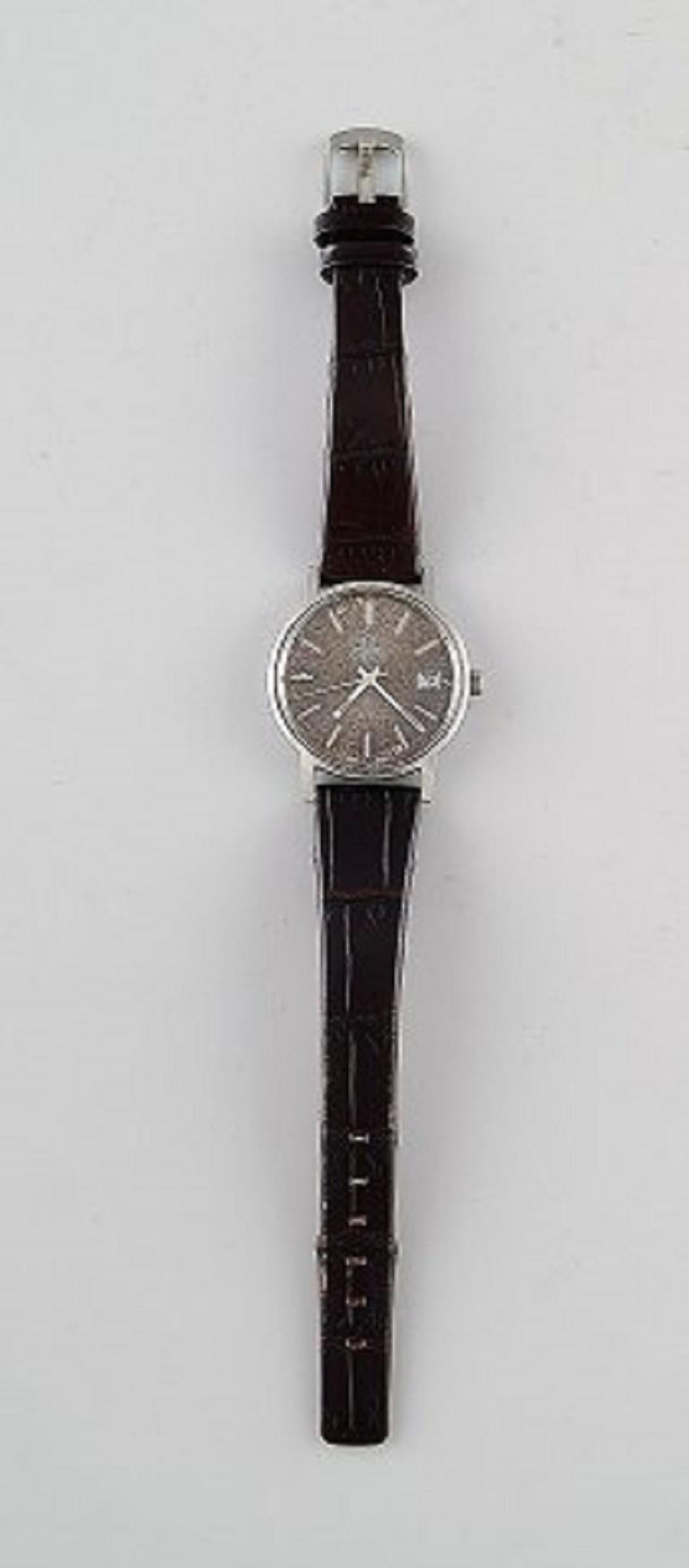 Omega Genéve Automatic, Vintage Men's Wrist Watch, 1960s. In very good condition. The clock works. Diameter 35 mm.