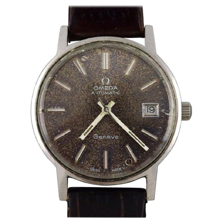 Omega Genéve Automatic, Vintage Men's Wristwatch, 1960s For Sale