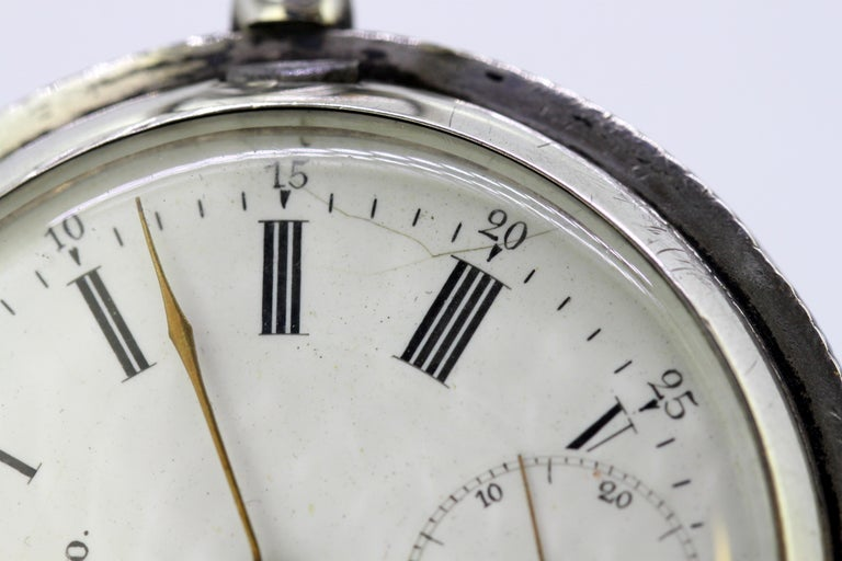 Omega, Gurzelen Silver Nielo Pocketwatch Russian Retailer, Switzerland, 1895 5