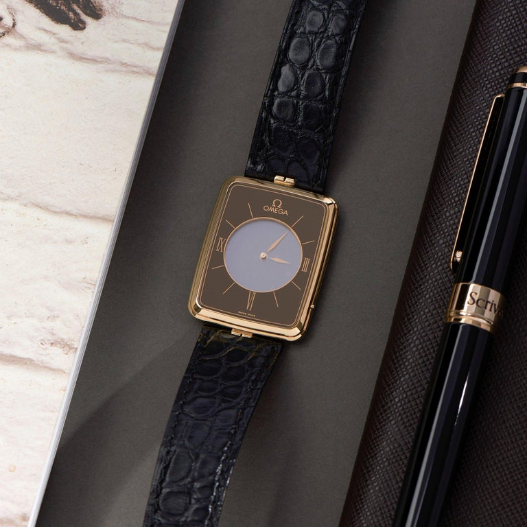 Omega La Magique Scarface Men Yellow Gold 0 Watch For Sale 7