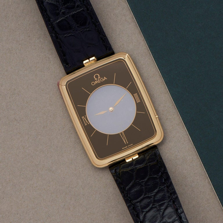 Omega La Magique Scarface Men Yellow Gold 0 Watch In Good Condition For Sale In Bishops Stortford, Hertfordshire