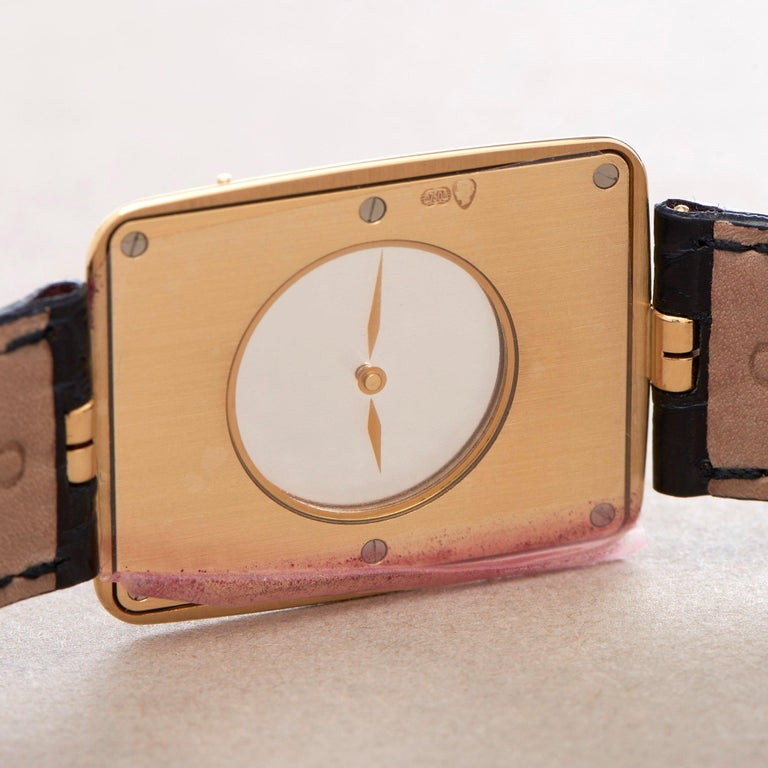 Omega La Magique Scarface Men Yellow Gold 0 Watch For Sale 3