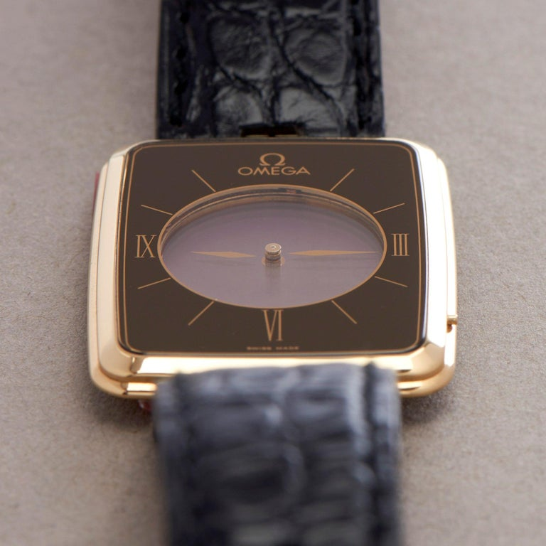 Omega La Magique Scarface Men Yellow Gold 0 Watch For Sale 4