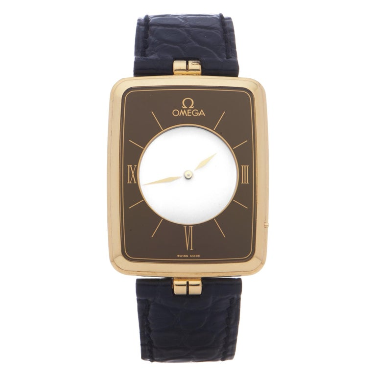 Omega La Magique Scarface Men Yellow Gold 0 Watch For Sale