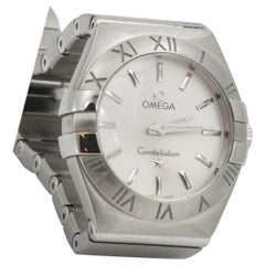 Omega Ladies Stainless Steel Constellation Wristwatch