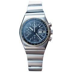 Omega Men's Speedmaster Day Date Automatic Chronograph, circa 1970s Swiss LV287