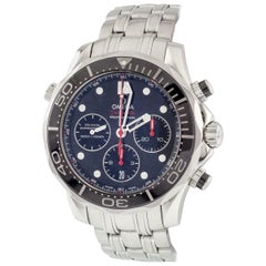 Omega Men's Stainless Steel Seamaster Diver's Coaxial Professional Chronograph