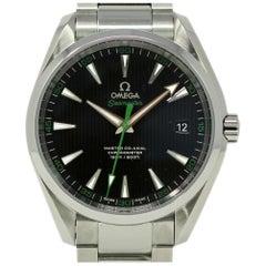 Neue Omega Seamaster 231.10.42.21.01.004 Aqua Terra Stahl Box/Papiere/WTY #OM22