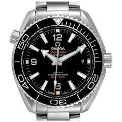 Omega Planet Ocean 39.5 Steel Mens Watch 215.30.40.20.01.001 Box Card