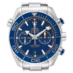 Omega Planet Ocean Blue Dial Steel Men's Watch 215.30.46.51.03.001 Card