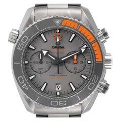 Omega Planet Ocean Co-Axial Titanium Watch 215.90.46.51.99.001 Box Card