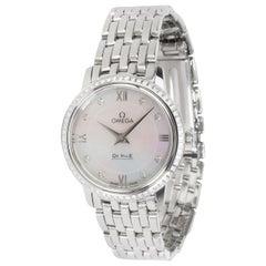 Omega Prestige 424.15.27.60.55.001 Women's Watch in Stainless Steel