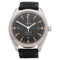 Omega Railmaster 22012402001001 Men Stainless Steel Watch