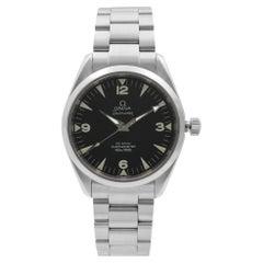 Omega Railmaster Chronometer Steel Black Dial Automatic Watch 2803.52.37