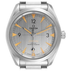 Omega Railmaster Chronometer Grey Dial Watch 220.10.40.20.06.001 Box Papers