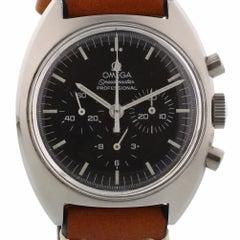 Omega Seamaster 145.016-68 mit Armband, Edelstahl-Lünette und Schwarzes Zifferblatt
