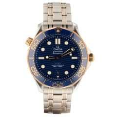 Omega Seamaster 210.20.42.20.03.002, Blue Dial, Certified and Warranty