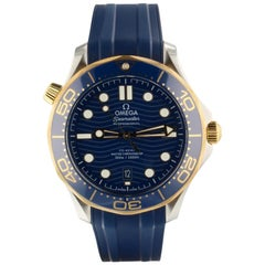 Omega Seamaster 210.22.42.20.03.001, Blue Dial, Certified and Warranty