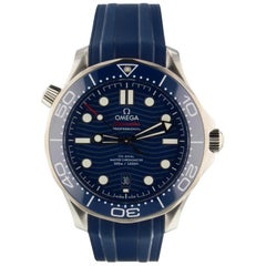 Omega Seamaster 210.32.42.20.03.001, Blue Dial, Certified and Warranty