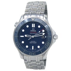 Omega Seamaster 212.30.41.20.03.001, Blue Dial, Certified &
