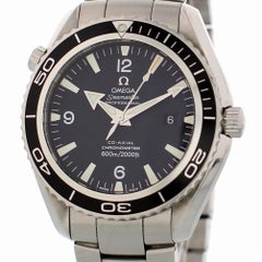 Omega Seamaster 2200.51.00 with Band, Metal Bezel and Black Dial