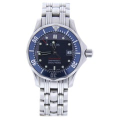 Omega Seamaster 2224.8 with Band, Ceramic Bezel and Blue Dial