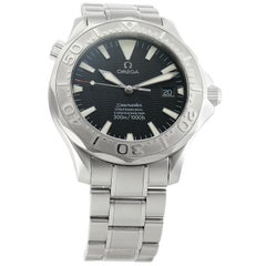 Omega Seamaster 2230.50.00, Black Dial, Certified and Warranty