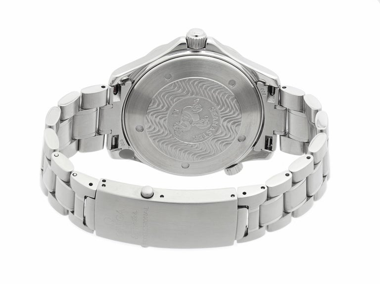 Women's Omega Seamaster 2254.50.00, Black Dial, Certified and Warranty For Sale