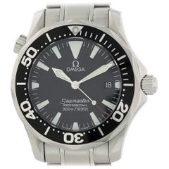 Omega Seamaster 2262.50.00 with Band and Black Dial Certified Pre-Owned