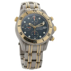 Omega Seamaster 2296.80.00, Blue Dial, Certified and Warranty
