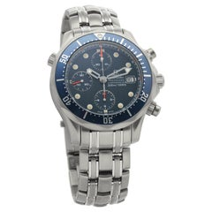 Omega Seamaster 2298.80.00, 39 Silver Dial, Certified and Warranty