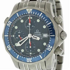Omega Seamaster 2298.80.00 with Band, Titanium Bezel and Blue Dial