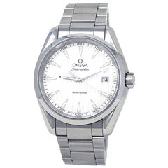 Omega Seamaster 231.10.39.60.02.001, Silver Dial, Certified