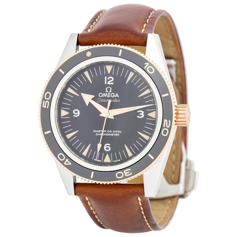 Omega Seamaster 233.22.41.21.01.002, Black Dial, Certified For Sale