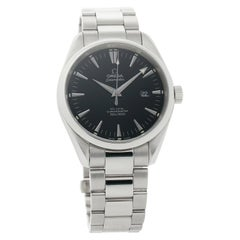 Omega Seamaster 2502.50.00, Black Dial, Certified and Warranty