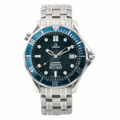 Omega Seamaster 2531.80 Men's Automatic Watch Blue Dial Stainless Steel