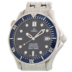 Omega Seamaster 2531.80.00, Black Dial, Certified and Warranty