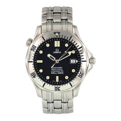 Omega Seamaster 2531.80.00, Certified and Warranty