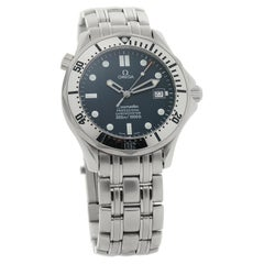 Omega Seamaster 2532.80.00, Blue Dial, Certified and Warranty