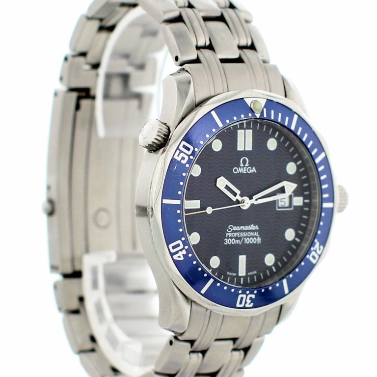 Women's Omega Seamaster 2541.80.00, Black Dial, Certified and Warranty For Sale