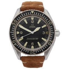 Omega Seamaster 300 165.024 Men's Stainless Steel Arrow Hands Watch