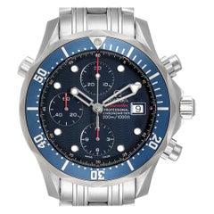 Omega Seamaster 300 Chronograph Men's Watch 2225.80.00 Box Card