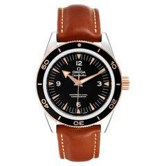 Omega Seamaster 300 Master Co-Axial Mens Watch 233.22.41.21.01.002 Box Card