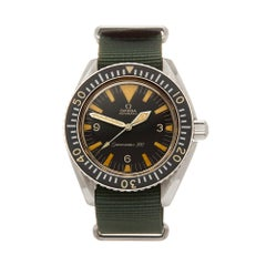 Omega Seamaster 300 Military Stainless Steel ST 165024 Wristwatch
