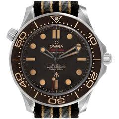Omega Seamaster 300M 007 Edition Titanium Watch 210.92.42.20.01.001 Box Card